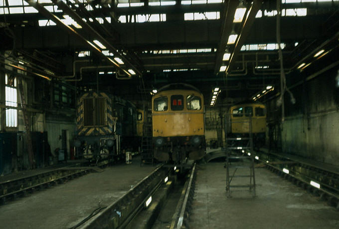 Hither Green Depot: 1978