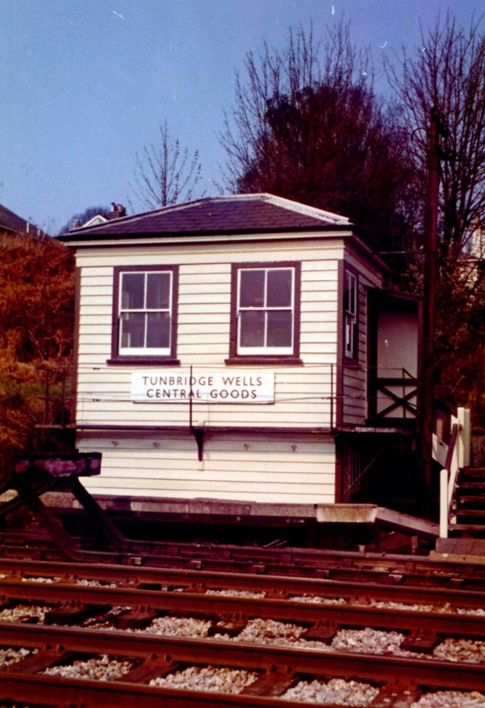 Tunbridge Wells Central Goods Signal Box: Early 1970s